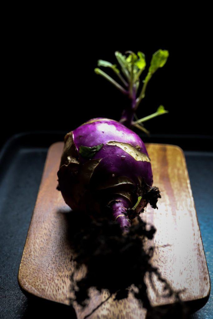 violet kohlrabi