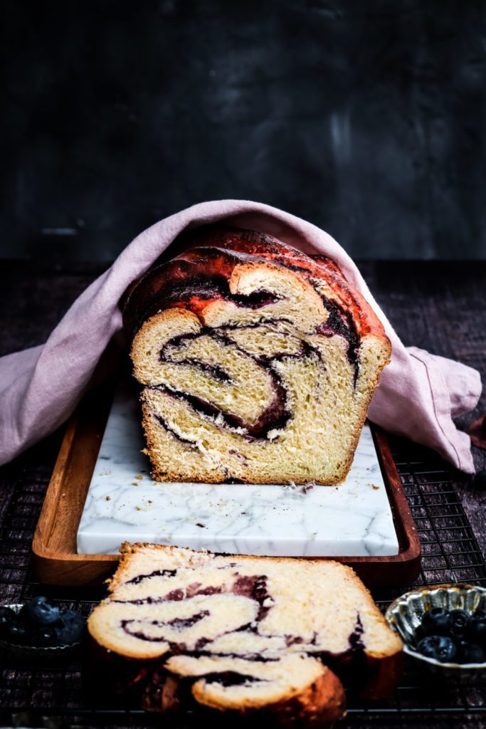 bread on a white marbled surface, holiday recipe