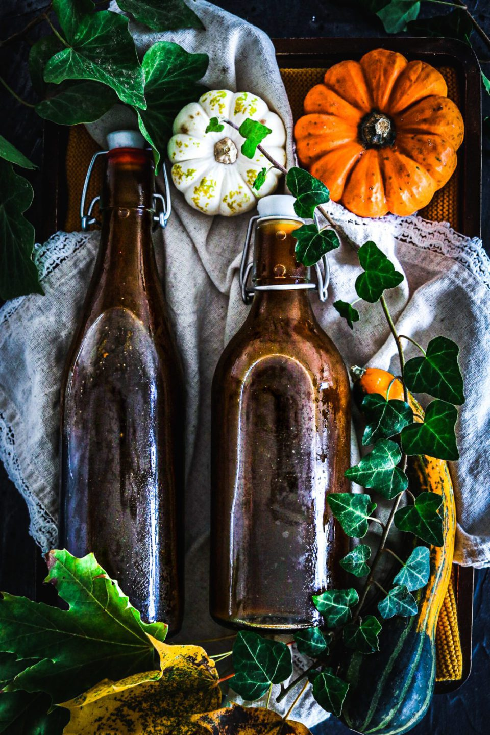 pumpkin spice syrup / pumpkin recipe / homemade